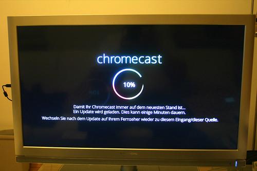 11 - Google Chromecast - Updates laden