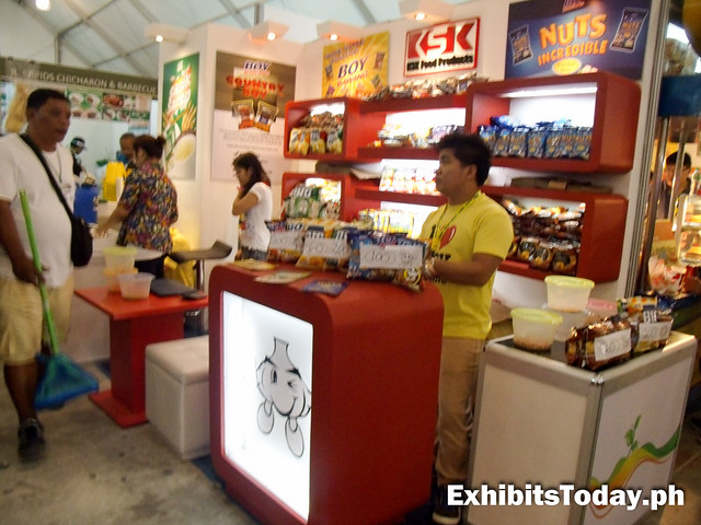 KSK Boy Bawang exhibit booth