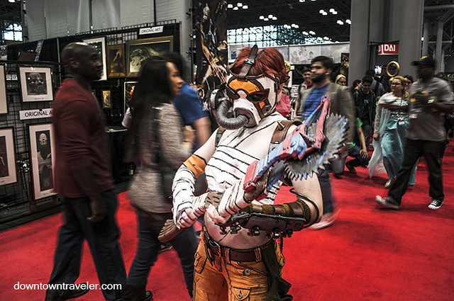 NY Comic Con 2014 Krieg the Psycho Borderlands