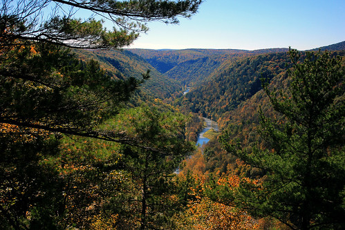autumn october sunnyday pennsylvaniagrandcanyon tiogacounty pinecreekgorge leonardharrisonstatepark northcentralpennsylvania