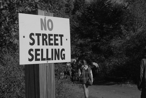 No Street Selling