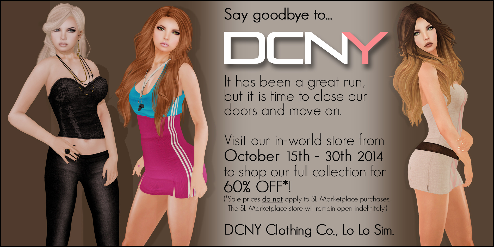 Say Goodbye to DCNY!