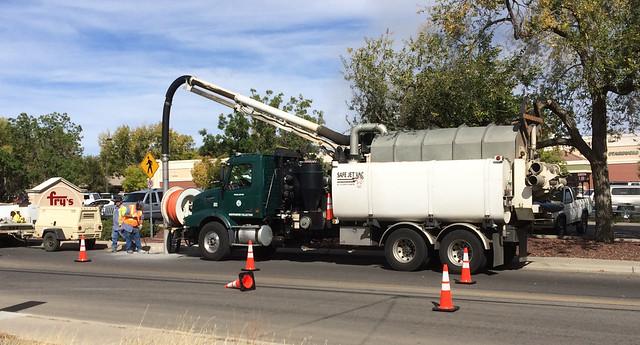 Prescott Sewer Truck