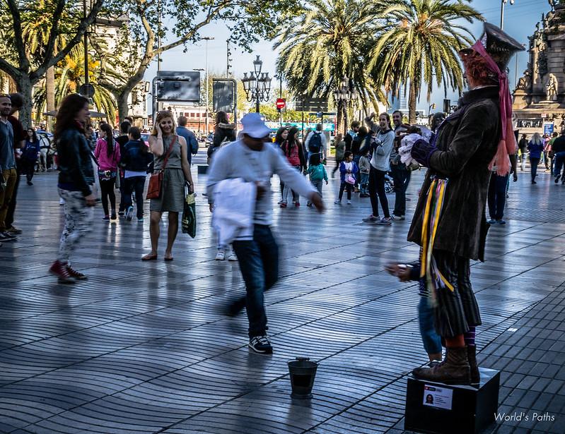 Barcellona e i suoi colori GIORNO 2