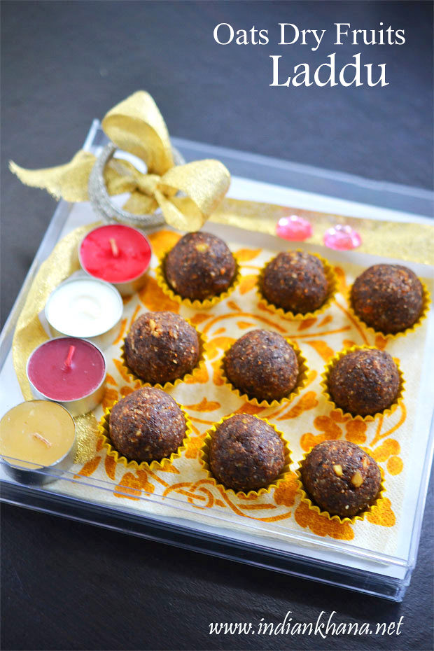 Oats Dry Fruit Ladoo