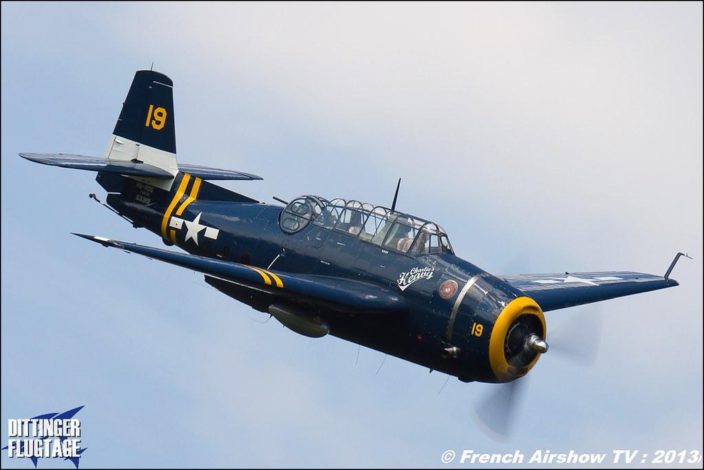 Grumman TBF Avenger at Dittinger Flugtage 2013