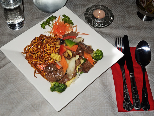 Tai Chi Court - Beef Chow Mein