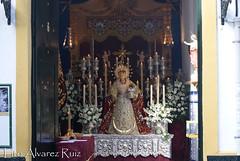 Besamanos - Virgen del Rosario (Barrio León) - Octubre 2014
