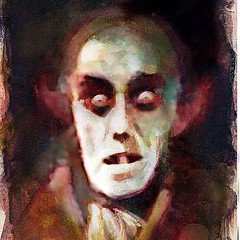 Nosferatu by Bill Sienkiewicz. #Comics #horror