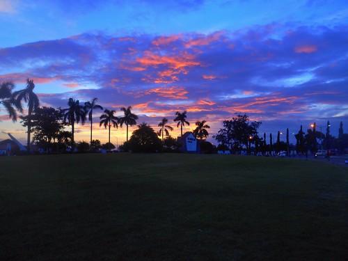 morning sunrise dawn cloudy
