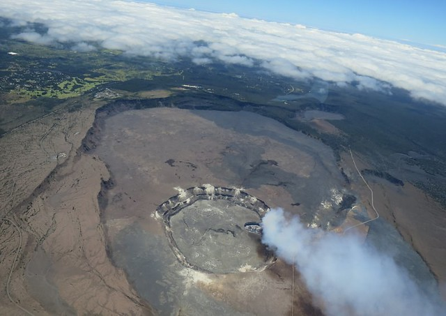 Big Island from above