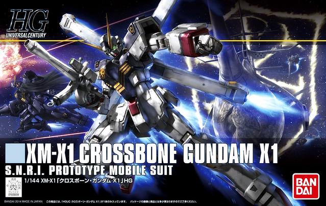 HGUC Crossbone Gundam X1 - Box Art