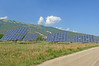 Macedonia, Drama region, solar panels field, Greece #Μacedonia by gentle wolf
