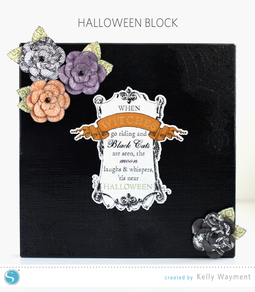 Halloween Block by Kelly Wayment for Silhouette