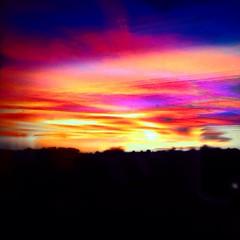 #Sunset al #emporda #igersgirona  #igersemporda #igerscatalunya #peralada
