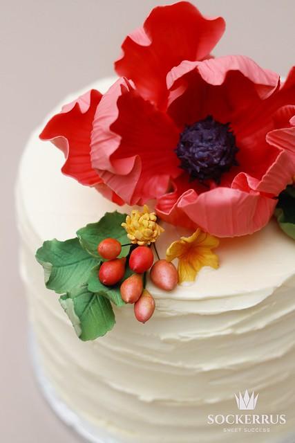 Autum cake sockerrus