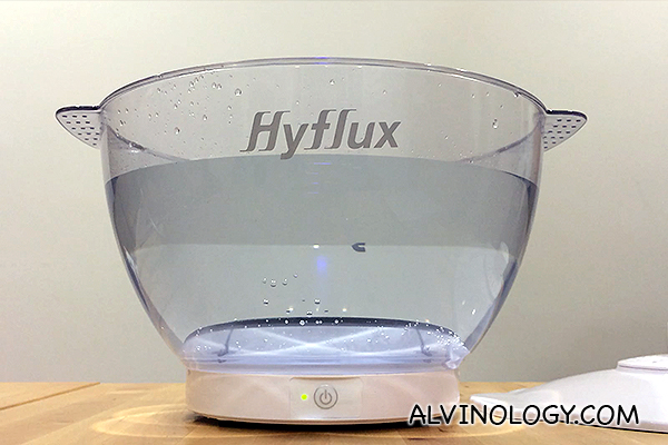 [Giveaway] Hyflux DEW Fruit & Vegetable Washer D818 is the new jacuzzi for fruit & vegetable - Alvinology