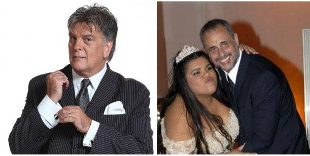 Morena Rial junto a Jorge