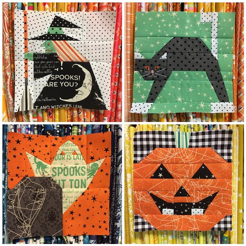 318 Patchwork Patterns - Halloween Blocks