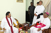 President Called on Bishop of Galle Most. Rev. Raymond Wickramasinghe
