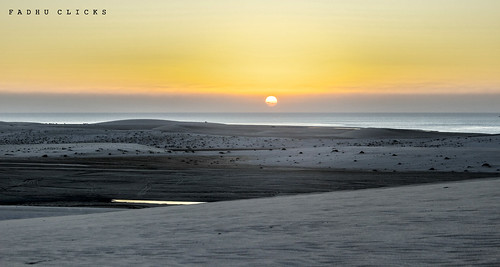 Golden Sunrise Khor Al Udeid