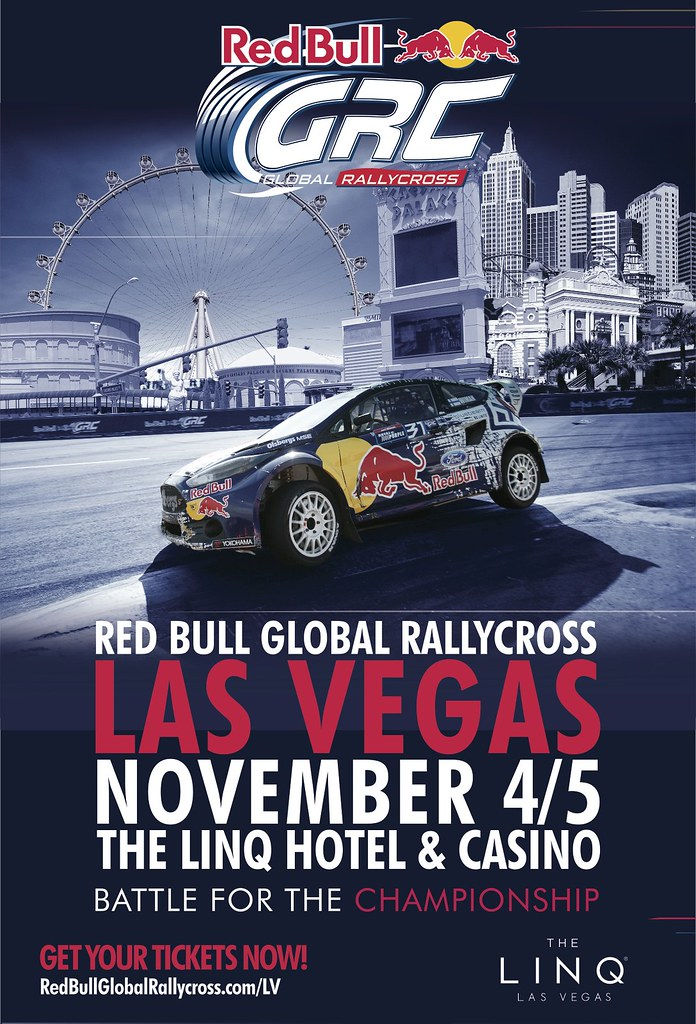 Red Bull Global Rallycross Las Vegas At The Linq K1