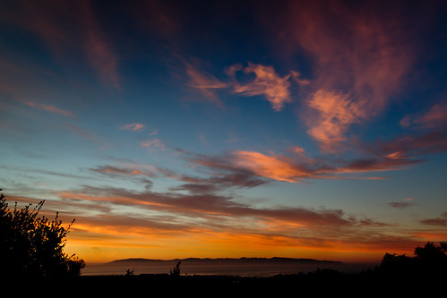 morning blue santacruz sunrise heart montereybay fair fai