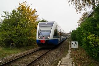 UBB Ausfahrt Ahlbeck Ostseetherme