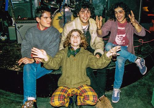 Amphetamine Discharge, años 90 en la sala Up de Santander.