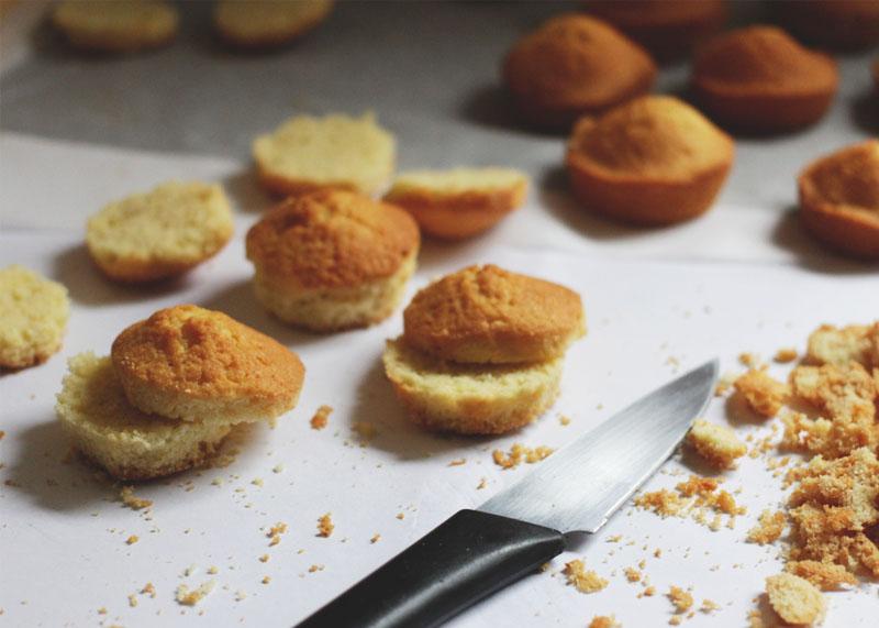 How to make mini cakes, Bumpkin Betty