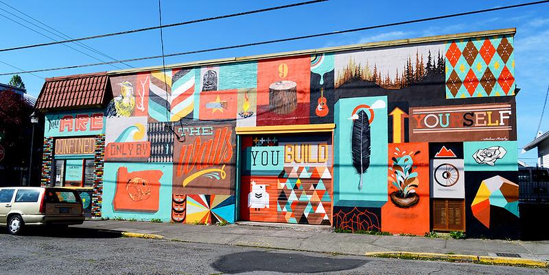 21st and Alberta Mural
