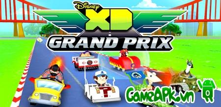 Disney XD Grand Prix v1.5 hack full tiền cho Android
