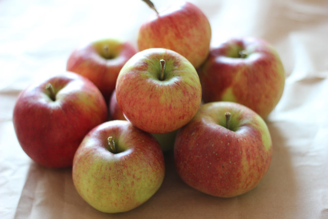 geplukte appels