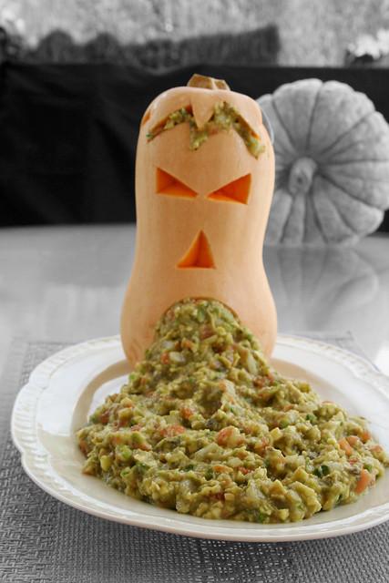 Foto del vómito de la  receta de guacamole 2