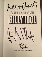 Billy Idol book signing by Guzilla