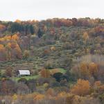 Farm in the Fall, near Buttermilk Falls