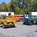 A gathering of '55 Chevy Gassers
