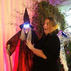 Adele from Govannen & friend @ Enchanted Faery Ball 2014