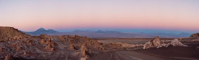 Moon Valley Sunset