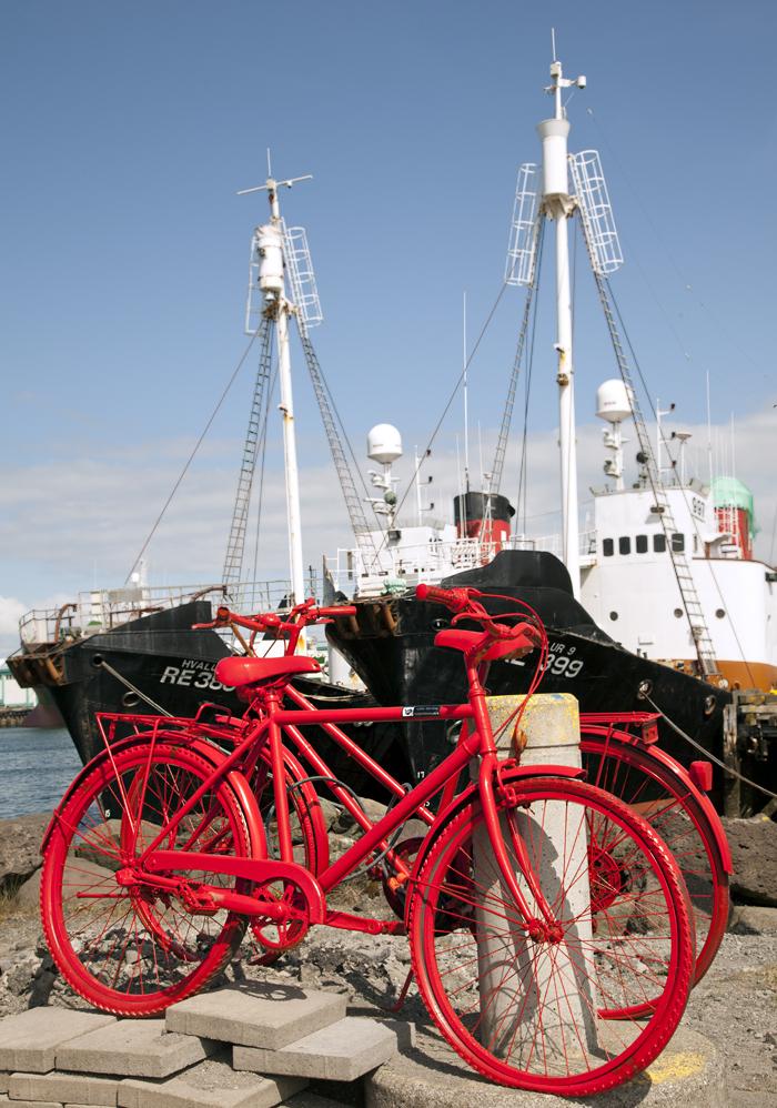 Bici rosse porto