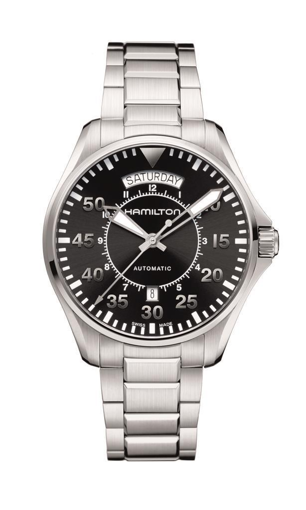 Hamilton Khaki Pilot Day Date_H64615135_Worn by Cooper (played by Matthew McConaughey)_high_cmyk_10562
