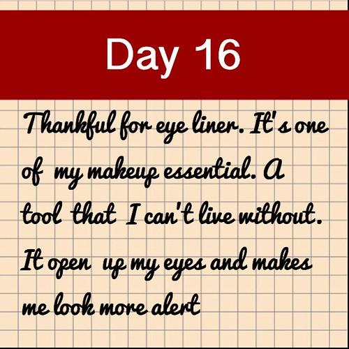 Day 16. Eye liner