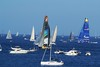 Start of the Rolex MIddle Sea Race 2014 from Grand Harbour Valletta
