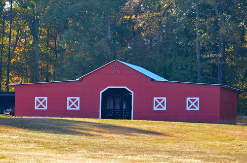 red building barn georgia landscape gwinnettcounty gwinnett