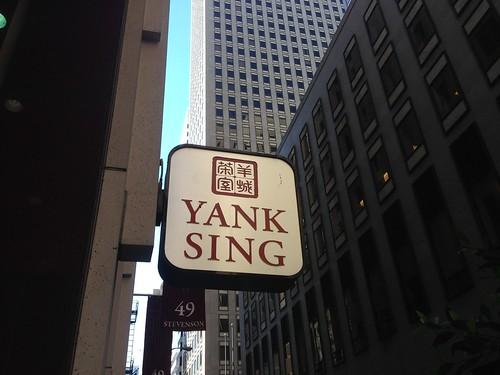Yank sing