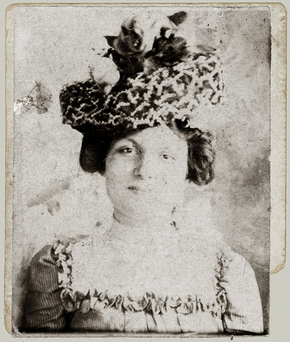 Portrait with hat