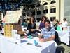 urban ag table at today's major/minor fair