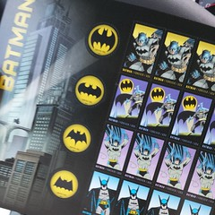 Batman stamps! #soexcited