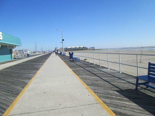 Riding on the Ocean City Boardwalk!