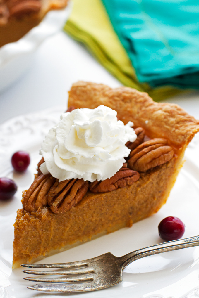 The Best Pecan Pumpkin Pie